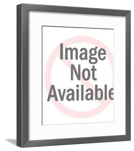 Zebra-Pop Ink - CSA Images-Framed Art Print