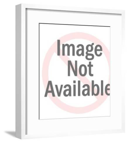 Kiss-Pop Ink - CSA Images-Framed Art Print