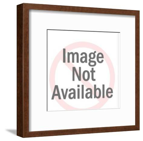Bad kiss-Pop Ink - CSA Images-Framed Art Print