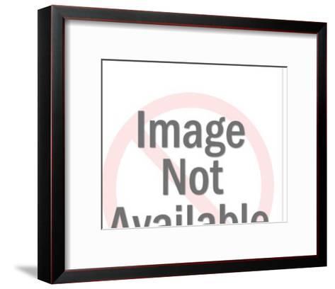 Uncomfortable embrace-Pop Ink - CSA Images-Framed Art Print