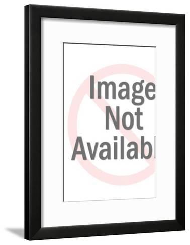 Cat with laser eyes-Pop Ink - CSA Images-Framed Art Print