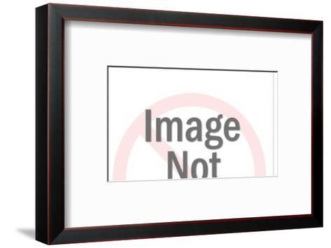 Brunette crying-Pop Ink - CSA Images-Framed Art Print