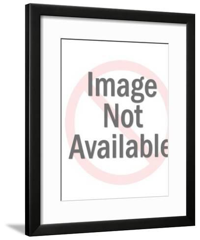Flower pattern-Pop Ink - CSA Images-Framed Art Print