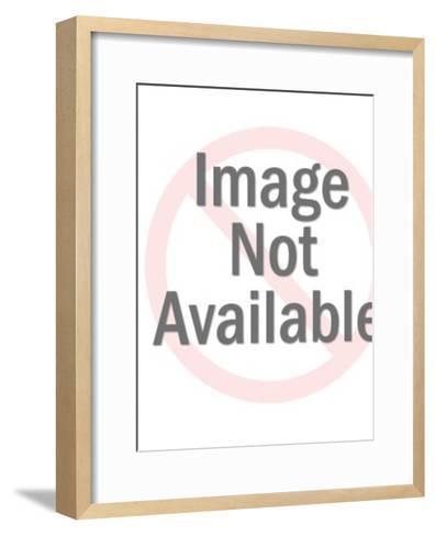 Rabbit Wearing Hat-Pop Ink - CSA Images-Framed Art Print