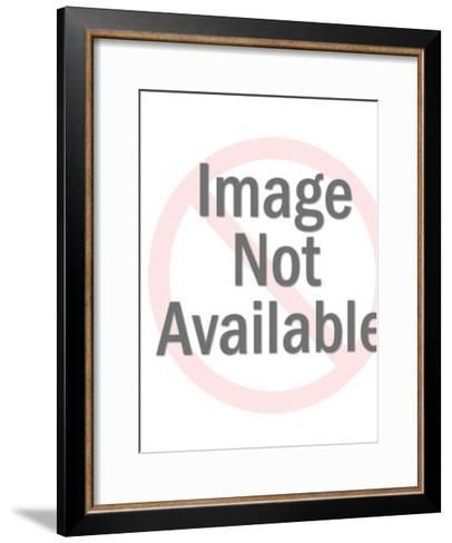 Pinup girl with ex-boyfriend tattoos-Pop Ink - CSA Images-Framed Art Print