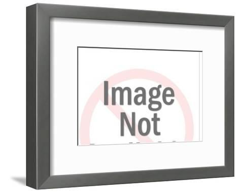 Trophy wife-Pop Ink - CSA Images-Framed Art Print