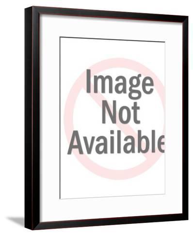 Blindfolded man-Pop Ink - CSA Images-Framed Art Print