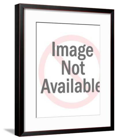 Running Bunny-Pop Ink - CSA Images-Framed Art Print