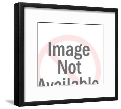 Man with glasses-Pop Ink - CSA Images-Framed Art Print