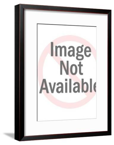 Anonymous topless woman-Pop Ink - CSA Images-Framed Art Print