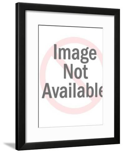 Anonymous naked woman-Pop Ink - CSA Images-Framed Art Print