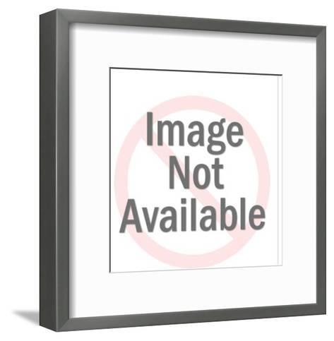 Penguin pattern-Pop Ink - CSA Images-Framed Art Print
