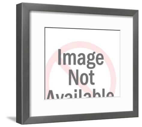 Beauty Queen Waving-Pop Ink - CSA Images-Framed Art Print