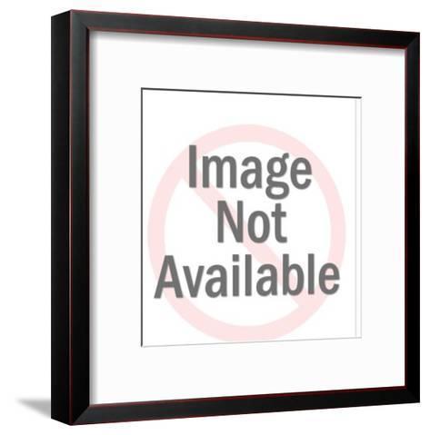 Gemini Sign-Pop Ink - CSA Images-Framed Art Print