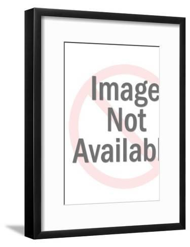 Young Couple Walking With Dog-Pop Ink - CSA Images-Framed Art Print