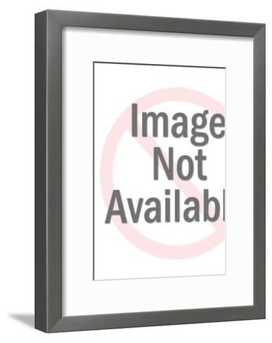 Green Pattern-Pop Ink - CSA Images-Framed Art Print