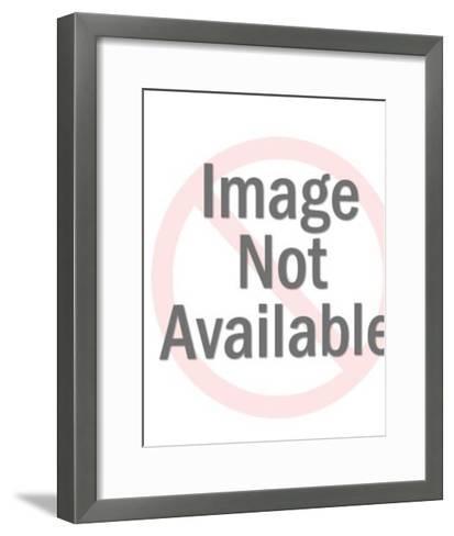 Bear Standing Up-Pop Ink - CSA Images-Framed Art Print