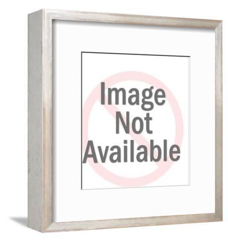 Basset Hound-Pop Ink - CSA Images-Framed Art Print