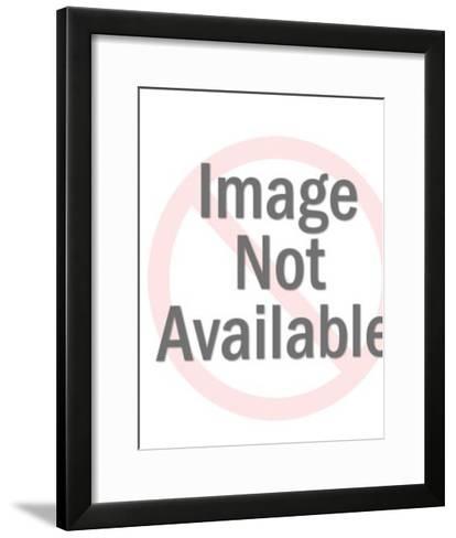 Scientist Holding Vial-Pop Ink - CSA Images-Framed Art Print