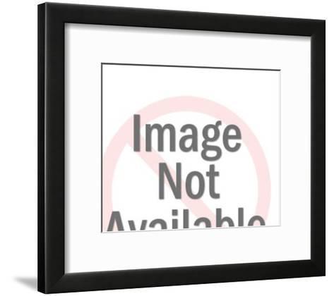 Policeman with Gun-Pop Ink - CSA Images-Framed Art Print