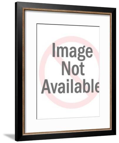 Cat Gesturing-Pop Ink - CSA Images-Framed Art Print