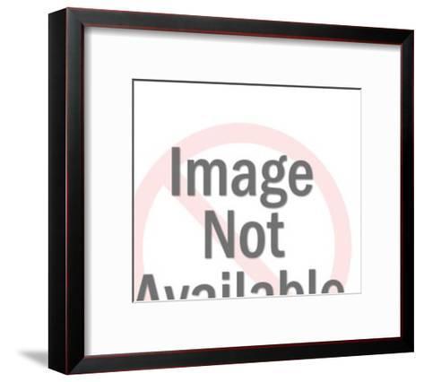 Orange Cat-Pop Ink - CSA Images-Framed Art Print