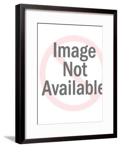 Freaky Grey Cat-Pop Ink - CSA Images-Framed Art Print