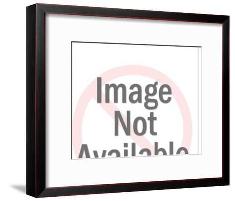 Cherubs With Dove-Pop Ink - CSA Images-Framed Art Print