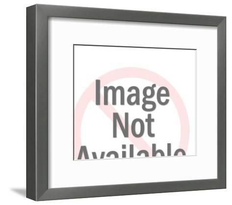 Pig for Dinner-Pop Ink - CSA Images-Framed Art Print