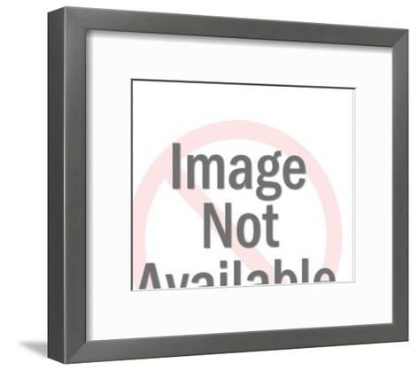 Man Working With a Maze Above-Pop Ink - CSA Images-Framed Art Print
