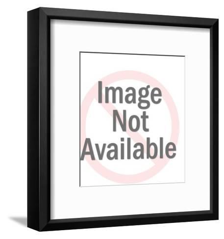 Woman Holding Towel-Pop Ink - CSA Images-Framed Art Print