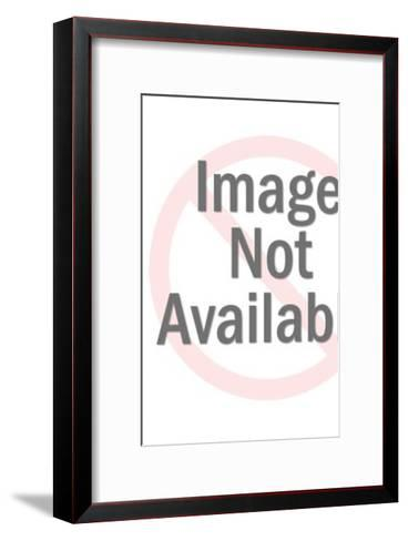 Queen Holding Flower-Pop Ink - CSA Images-Framed Art Print