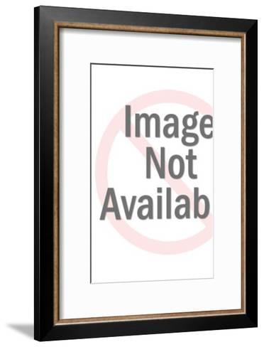 King Holding Sword-Pop Ink - CSA Images-Framed Art Print