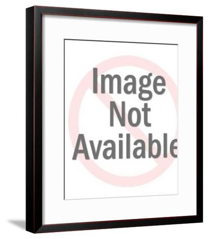 Stern Looking Man in Suit-Pop Ink - CSA Images-Framed Art Print
