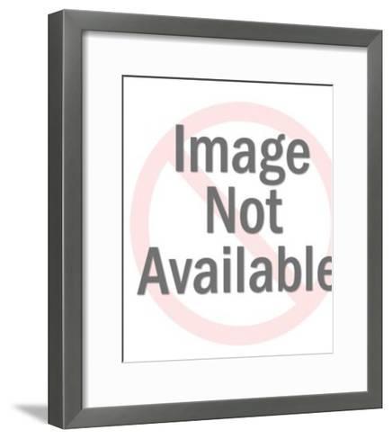 Green Shapes-Pop Ink - CSA Images-Framed Art Print