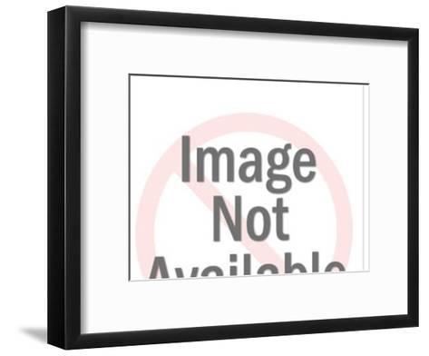 Close-up of Couple Talking-Pop Ink - CSA Images-Framed Art Print