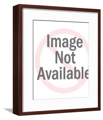 Blonde Angel-Pop Ink - CSA Images-Framed Art Print
