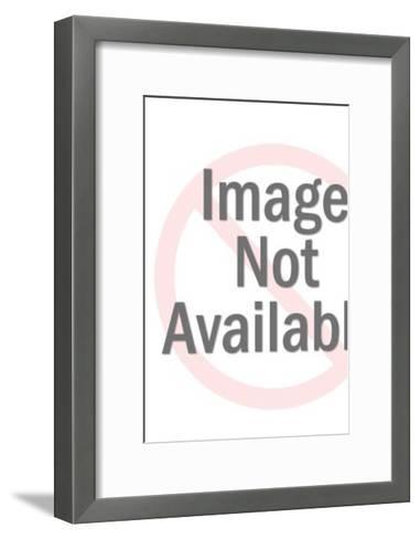 Sea Monster Grabbing Woman-Pop Ink - CSA Images-Framed Art Print
