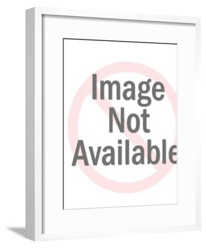 Female Hornet and Man-Pop Ink - CSA Images-Framed Art Print