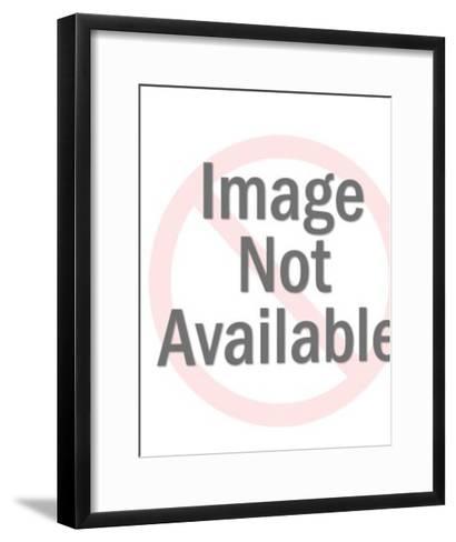 Man in Tree-Pop Ink - CSA Images-Framed Art Print