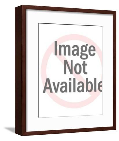 Angel Holding Tray-Pop Ink - CSA Images-Framed Art Print