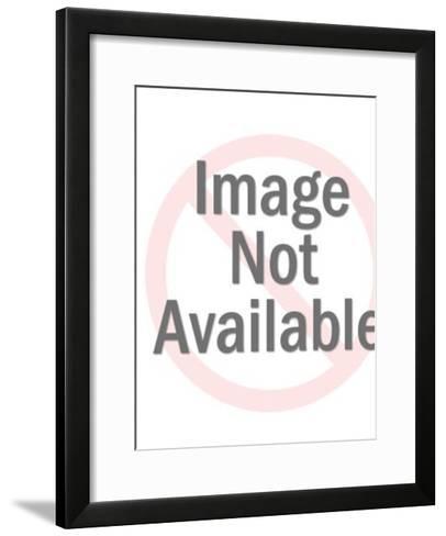Porcupine in Tree-Pop Ink - CSA Images-Framed Art Print