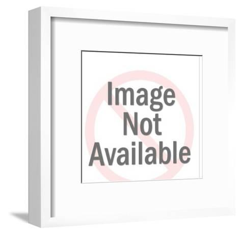Roaring Cat-Pop Ink - CSA Images-Framed Art Print