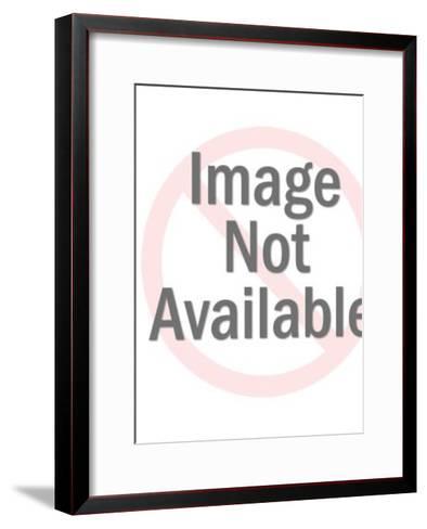 Nude Woman Bending Down-Pop Ink - CSA Images-Framed Art Print