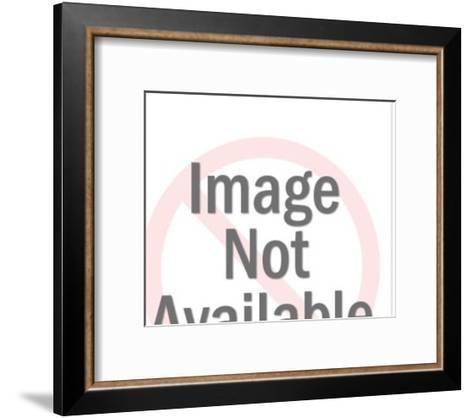 Big Foot Holding Woman-Pop Ink - CSA Images-Framed Art Print