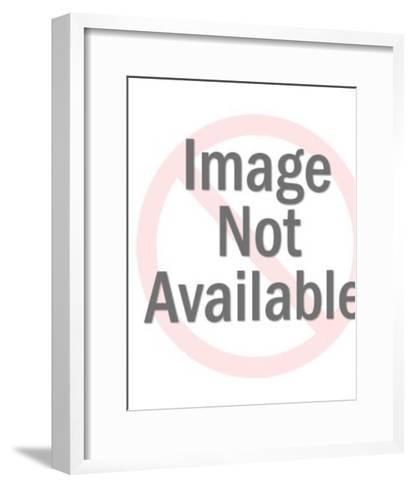 Couple Wearing Flamenco Dancer Clothes-Pop Ink - CSA Images-Framed Art Print