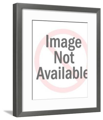 Rough Sea-Pop Ink - CSA Images-Framed Art Print