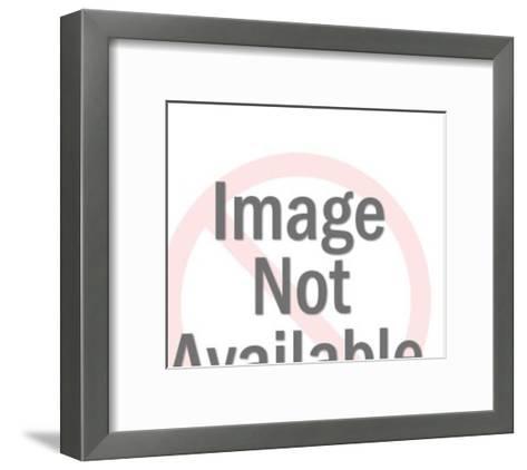 Brown High Heel Shoes-Pop Ink - CSA Images-Framed Art Print