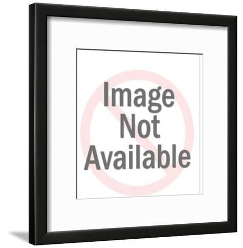 Couple Caught in the Bedroom-Pop Ink - CSA Images-Framed Art Print
