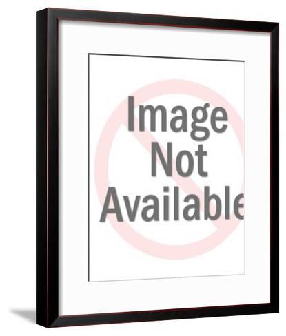 Man Holding a Book-Pop Ink - CSA Images-Framed Art Print